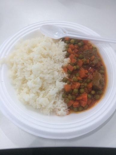 Riz u Bizella (Rice and Peas Lebanese style)
